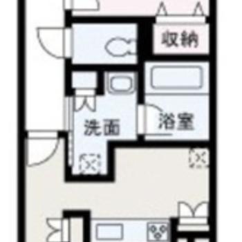 洋室は約7帖。広々使えます。