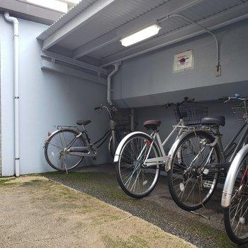 駐輪場もありますよ~