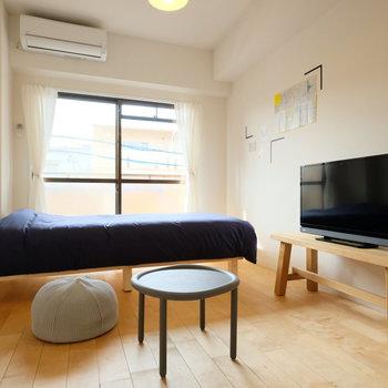家具家電付きのお部屋なので、すぐに一人暮らしスタート出来ます!