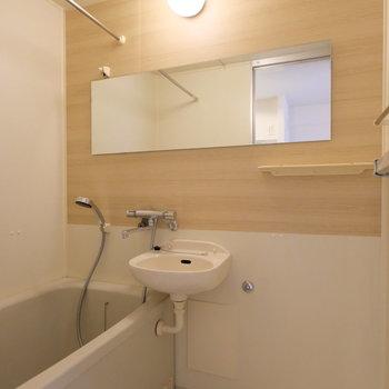 既存利用のお風呂ですが、きれいです!