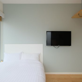 壁掛けテレビは可動式です※似た間取りの別部屋