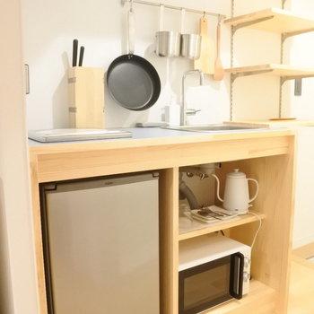 キッチンも新しいものに◎