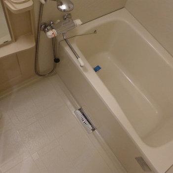 お風呂も十分な広さ!快適です!(※写真は2階の同間取り別部屋のものです)