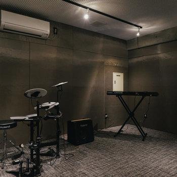 なんとなんと音楽スタジオまで!!※写真は前回募集時のものです