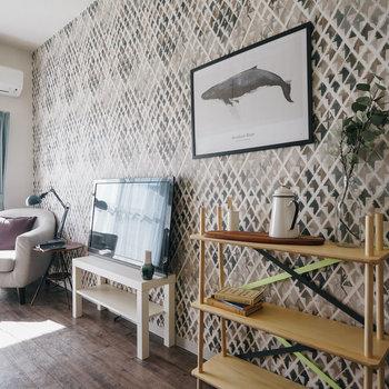 壁紙がとても豊富!※写真は前回募集時、モデルルームのものです