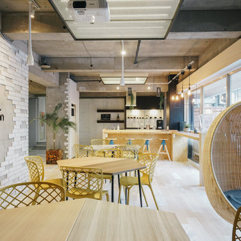 カフェのようなコワーキングスペース!※写真は前回募集時のものです