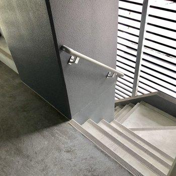 階段が丸見えじゃないのも嬉しいポイント!
