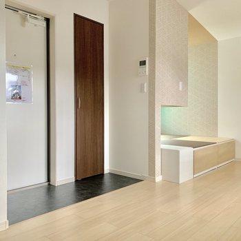小上がり茶室のあるお部屋。