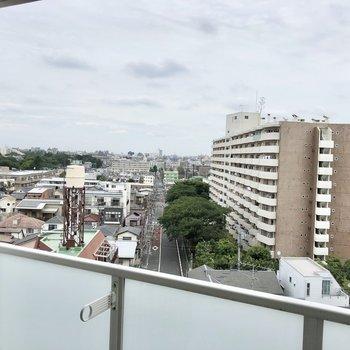 階数が高いこともあり、眺めも良いです。