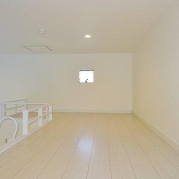 秘密基地みたいなロフト※写真は同タイプの別室。