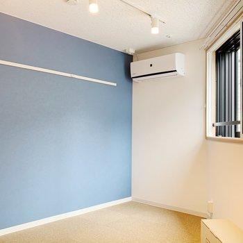 変わった形のお部屋です。※写真は3階の同間取り別部屋のものです