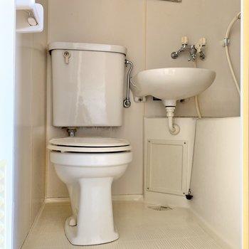 トイレまで一気にお掃除できるので楽チンそうですね◎