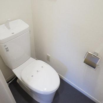 【完成イメージ】新品トイレ、ウォシュレット用電源もありますよ◎