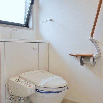 お隣はおトイレのアメサパ※写真は同タイプの別部屋