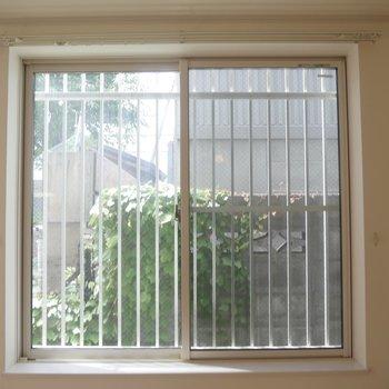 たまたまですが、グリーンが窓から見えて癒される、、、!お隣の方に感謝♪