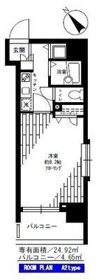 フェニックス横須賀中央 の間取り