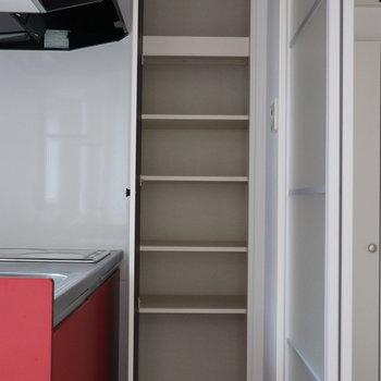 【LDK】キッチン専用の収納棚