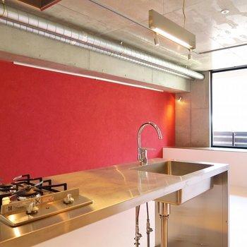 料理がますます美味しくなりそうな気分になる〜!※写真は2階同間取り・別部屋のものです。