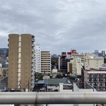 【眺望】9階なので高さがあります。