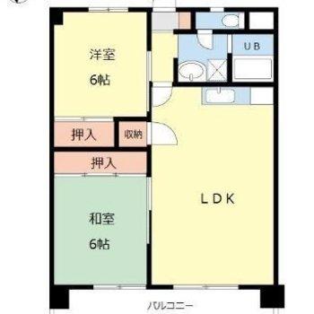 1つ1つのお部屋も広々としています。