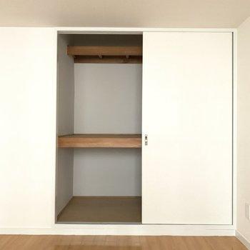 収納は上手に使って整理整頓♪(※写真は5階の同間取り別部屋のものです)