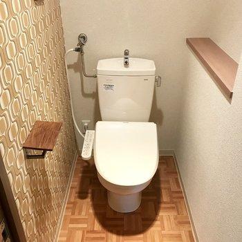 トイレもなんだか可愛くない?