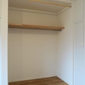 【完成イメージ】リビングの収納はオープン式なので収納以外にも使えそう!