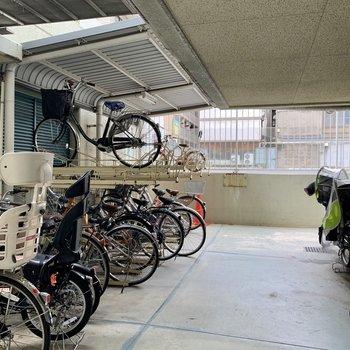 共用部】駐輪場は指定の場所へ!