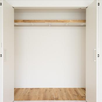 【完成イメージ】洋室の収納は折戸式の収納へ!