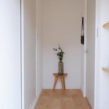 【完成イメージ】玄関に入れば、優しいお出迎えが。