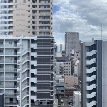 14階なので眺望は全く問題なし