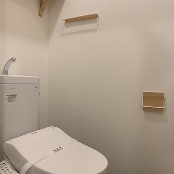 トイレもこの度、新調しました!