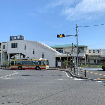 最寄りの二宮駅です。