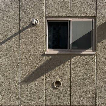 眺望は壁!洗濯物の目線を気にする必要はありませんね!