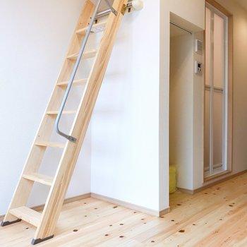 階段にのぼってみましょう。※写真は前回募集時のものです