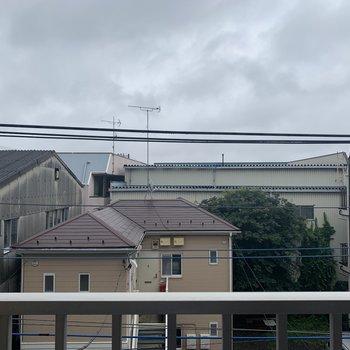 眺望は閑静な住宅街