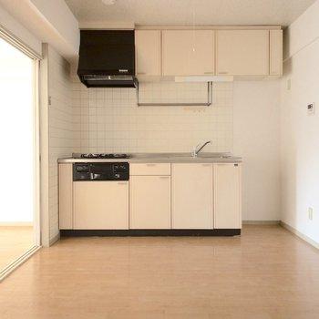 【DK】右側に冷蔵庫置き場があります