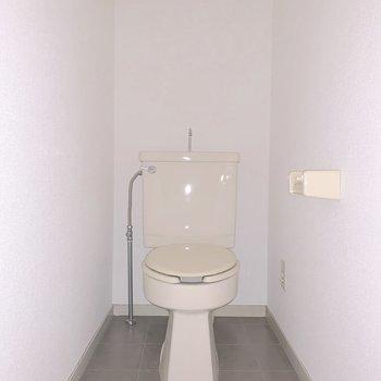 手洗い場がついています※写真は通電前のものです。フラッシュを使用して撮影しています