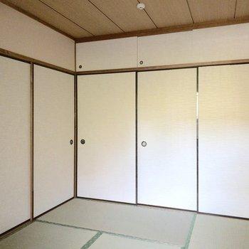 【和室】扉が沢山並んでいますね