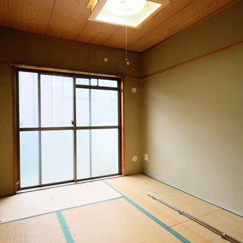 【工事前】和室はしっかり洋室にして、造作デスクも出来ますよ!