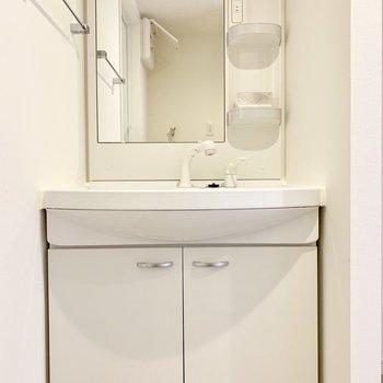【下階】ノズルが伸びるから洗いやすい。