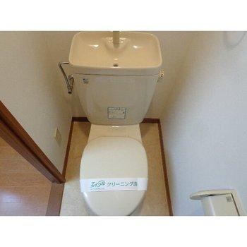 トイレはシンプル〜