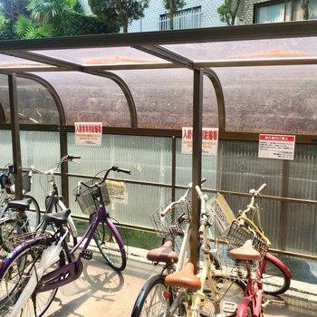 自転車愛好家さんも安心です!