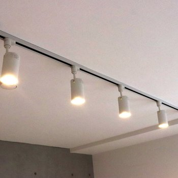 室内灯は5つの白熱灯