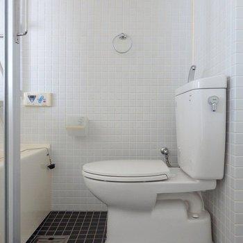 トイレはウォシュレットではありません。(※写真は6階の同間取り別部屋のものです)