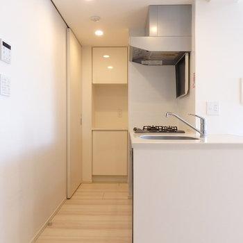 使い勝手の良さを考えられた動線に ※写真は10階の同間取り別部屋のものです