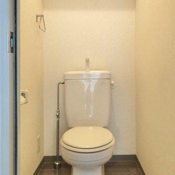 トイレもゆったりしています。