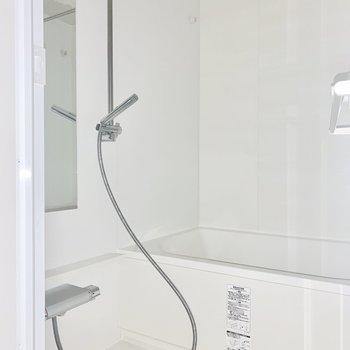 シャワーの形がスタイリッシュ