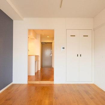 正方形の使いやすいお部屋※写真はクリーニング前です
