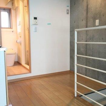 まずは2階。居心地よいです※写真と文章は2階の反転間取り別部屋のものです